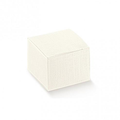 Scatola Confetti Seta Bianco