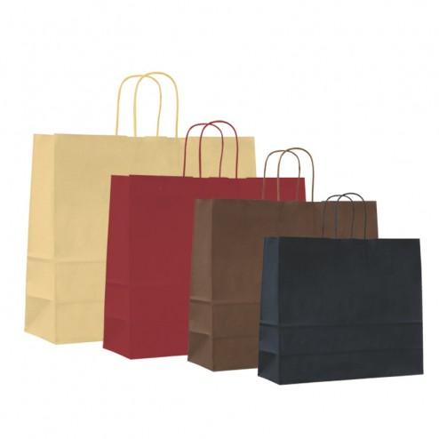 Shopper Carta Kraft Colorata Autunno/Inverno