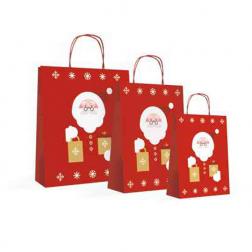 Shopper Natalizia Santa Claus