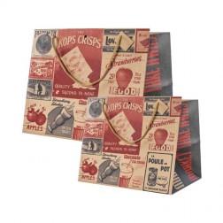 Busta Food Kraft Vintage