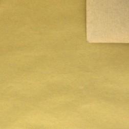 Carta Regalo Sealing Avana Colore Oro - Confezione da 25 fogli