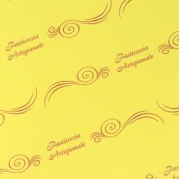 Carta Pelleaglio Gialla - Pasticceria Artigianale