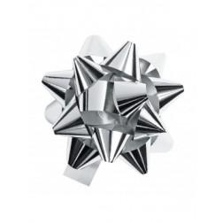 Coccarda argento metal