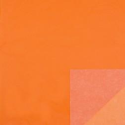 Carta Velina Arancio Double Face - 24 fogli da 50x75