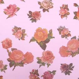 Carta Regalo Rose Rosa Antico