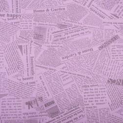 Carta regalo giornale rosa