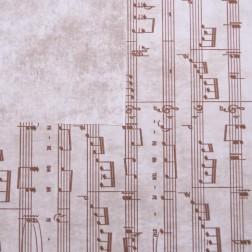 Carta Regalo Note Musicali - Confezione da 20 fogli