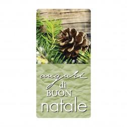 Etichetta Adesiva Natalizia - Auguri di Buon Natale