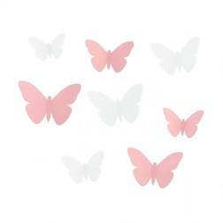 Set Farfalle Adesive