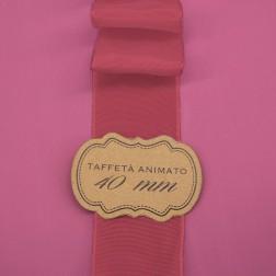 Nastro Taffetà Animato 40mm Rosa Antico - confezione da 25 metri