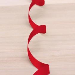 Nastro di Polipropilene 9,5mm Rosso Metallizzato Opaco - confezione da 250 metri