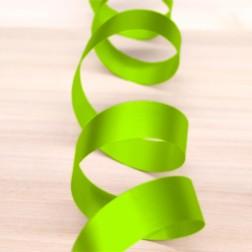 Nastro di Polipropilene 19mm Verde Acido Metallizzato Opaco - confezione da 50 metri