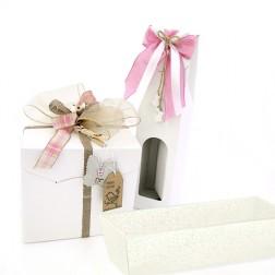 Coordinato Packaging Bianco Perla