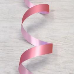 Nastro di Polipropilene 19mm Rosa Metallizzato Opaco - confezione da 50 metri