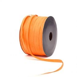 Nastro di Rafia 7mm Arancio - Confezione da 100 metri