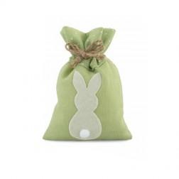 Sacchetto Verde Coniglietto