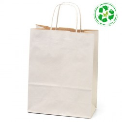 Shopper Economica Carta Bio - Confezione da 25pz