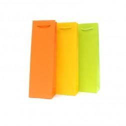 Busta portabottiglie colorata