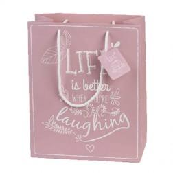 """Shopper Rosa """"Life"""""""