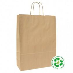 Shopper Ecologica Carta Riciclata Avana