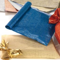 Sacchetti Tissu Metal Natalizi
