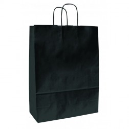 Shopper Carta Kraft Nera Classica