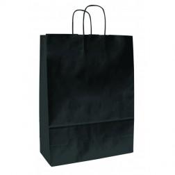 Shopper Carta Kraft Nera Classica